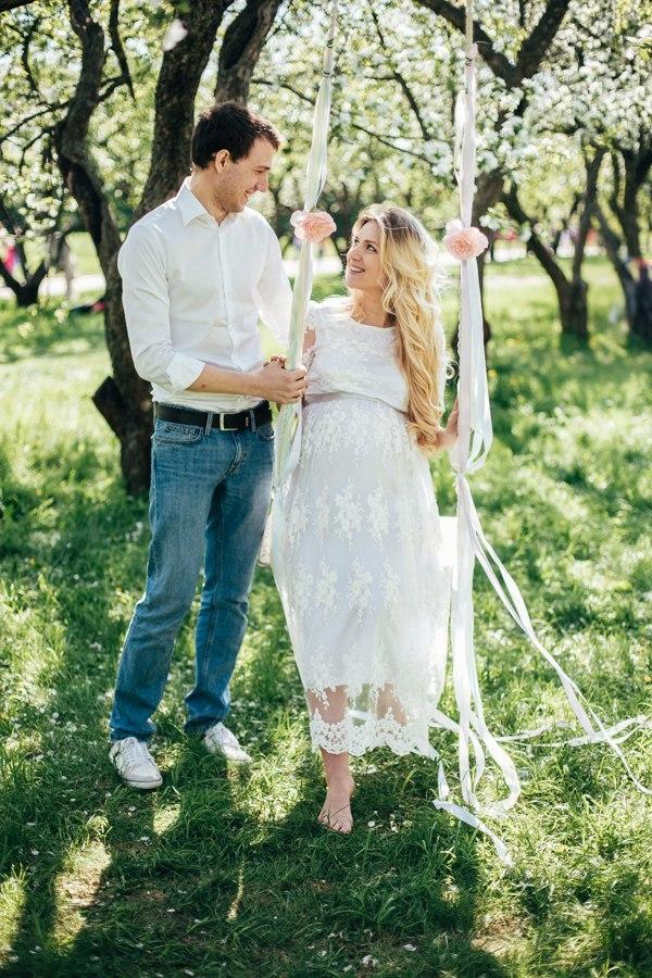 Изящное и невесомое белое платье