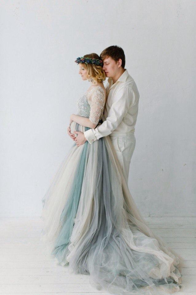 Платье для беременных Холодный Водопад