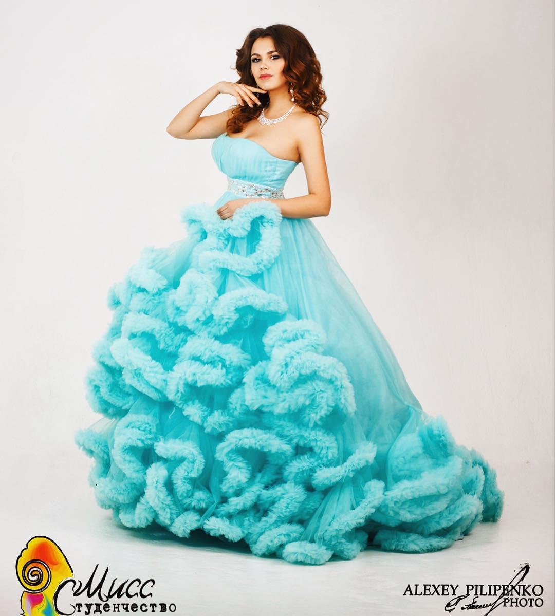 Фотосессия Дианы Мухановой перед конкурсом «Мисс Студенчество»