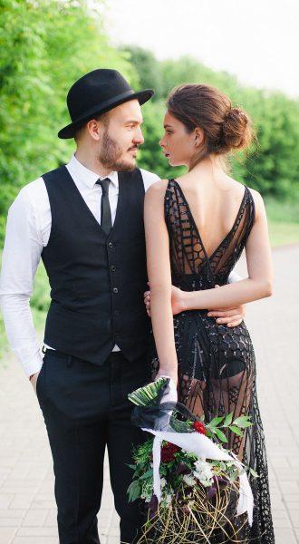 Фотосессия с мужем в дерзком образе