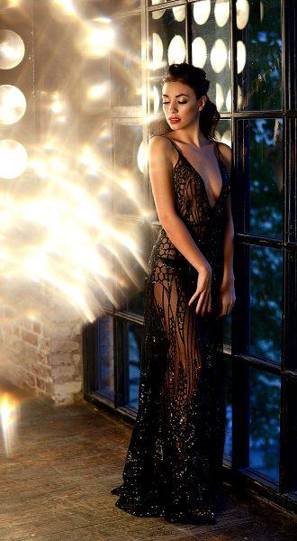 Прозрачное платье для смелых женщин