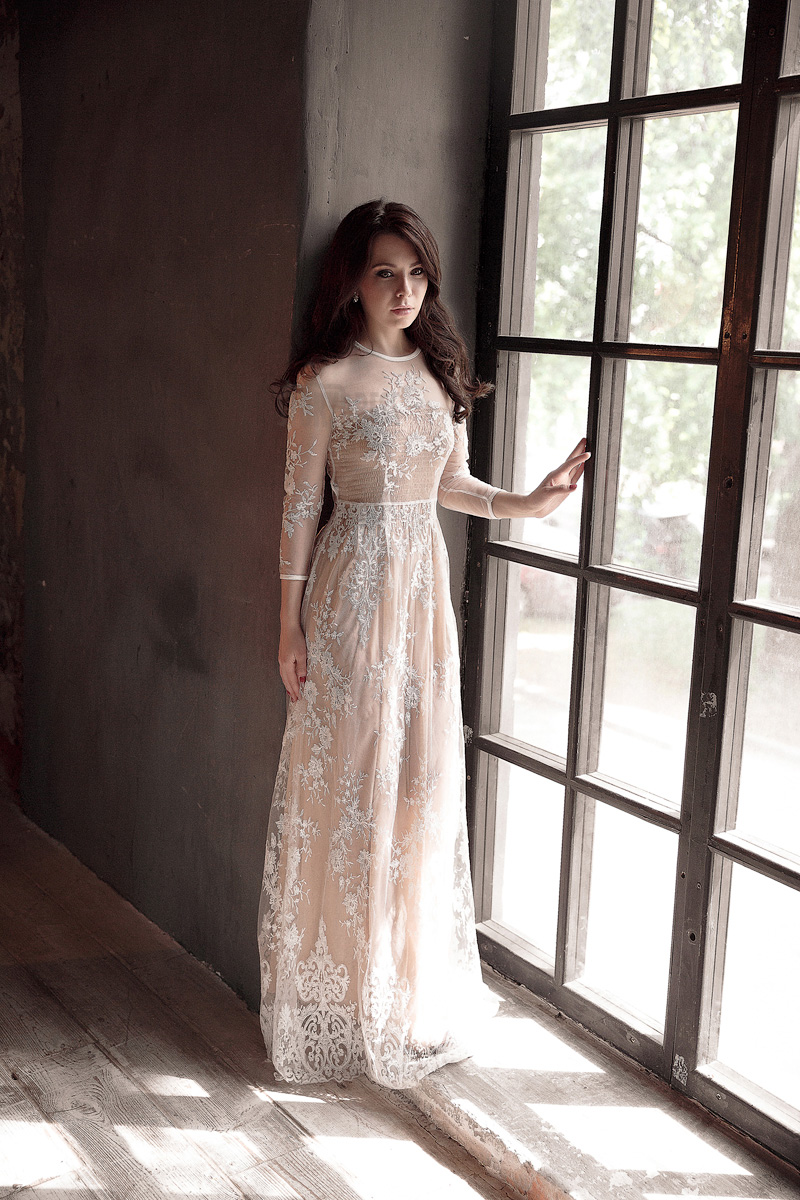Прозрачное платье Lika