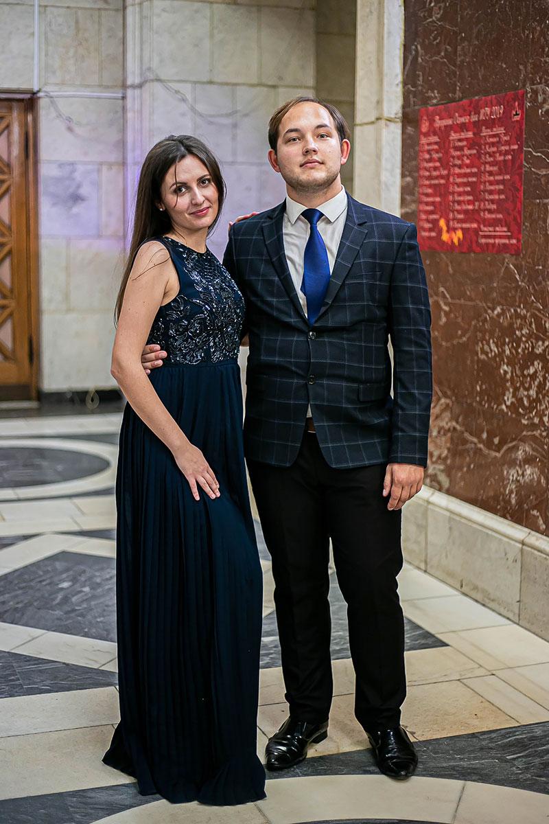 Фото студентов на балу МГУ