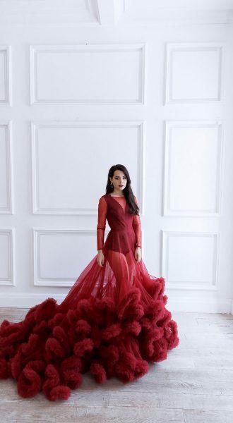 Пышное платье напрокат