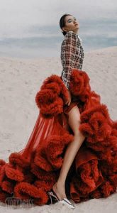 Прозрачное платье-облако Phantom Bordeaux Cloud