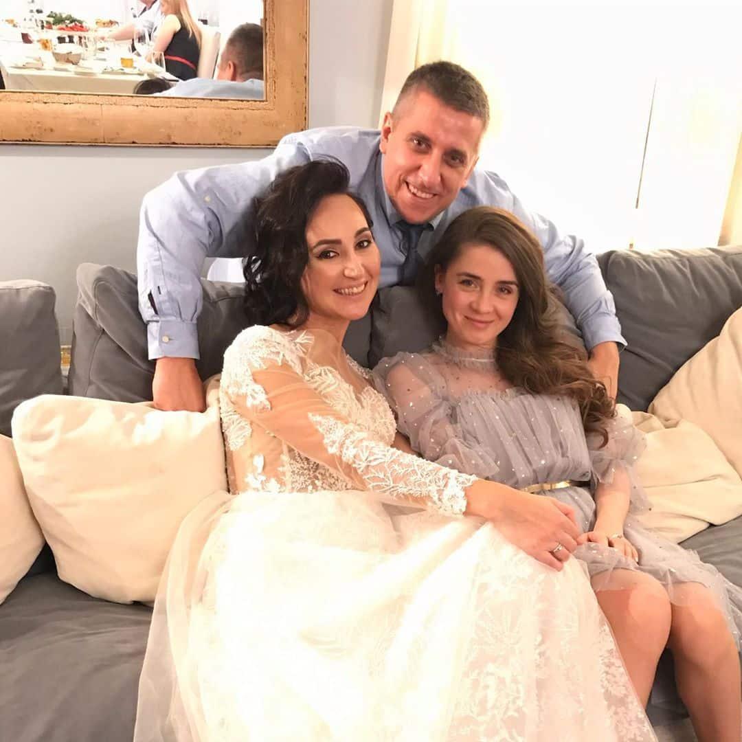 Ольга Зейгер на свадьбе подруги