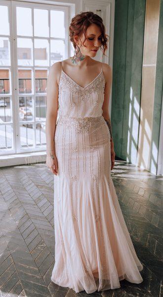 Платье размер плюс Dana Pink