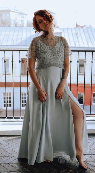 Красивое платье для полных Samantha