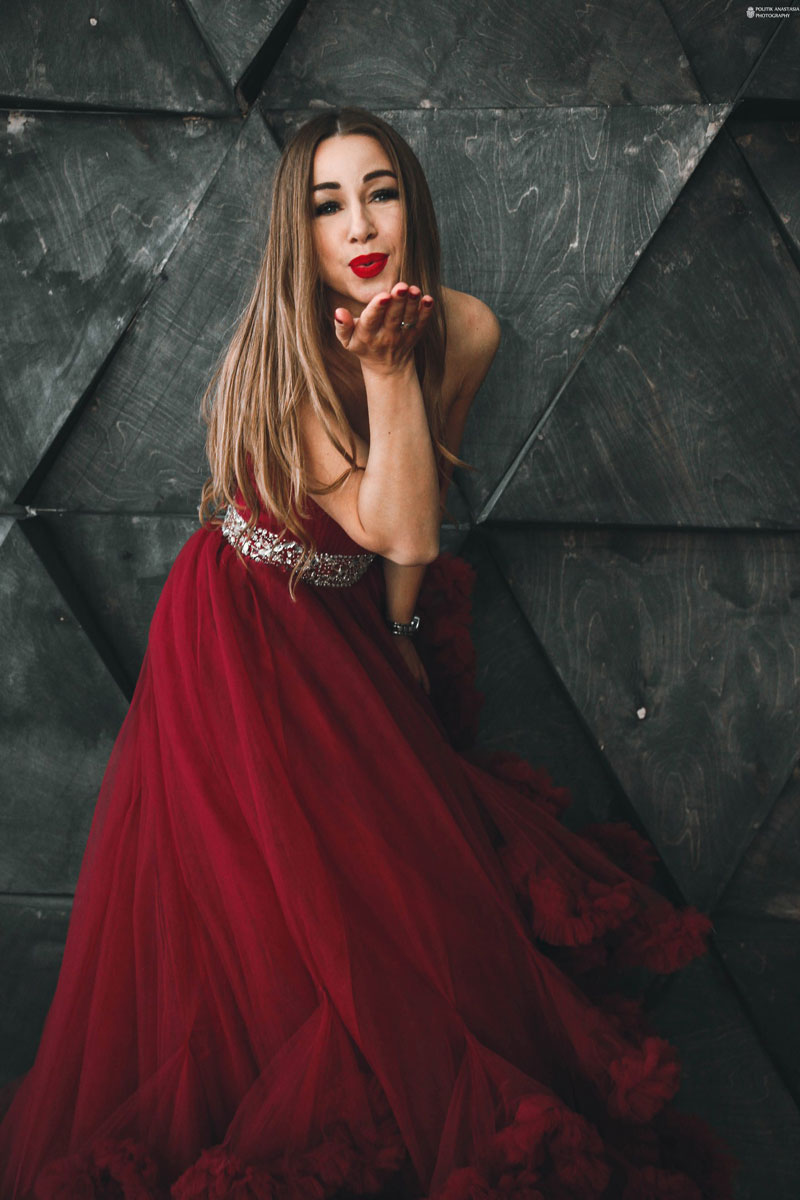 Платье из проката на фотопроекте