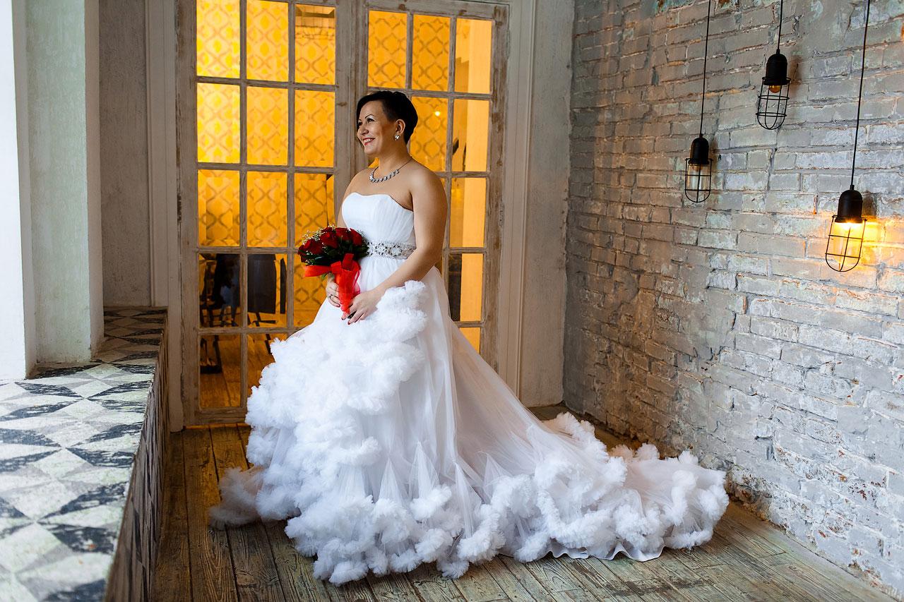 Белое платье облако напрокат