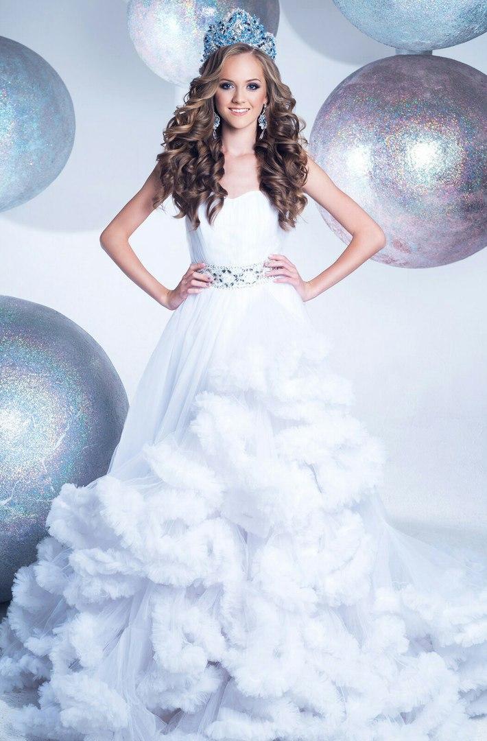 Платье-облако White Cloud