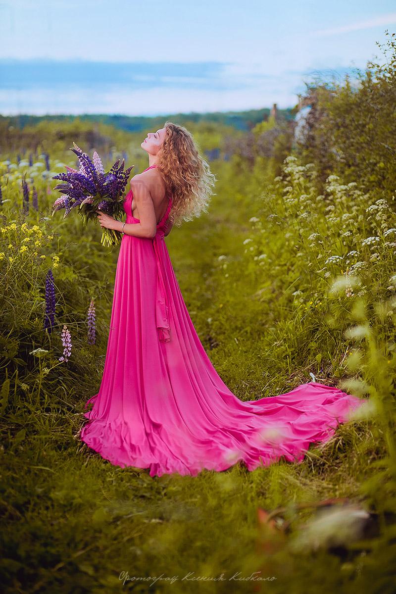 Открытое платье-сарафан