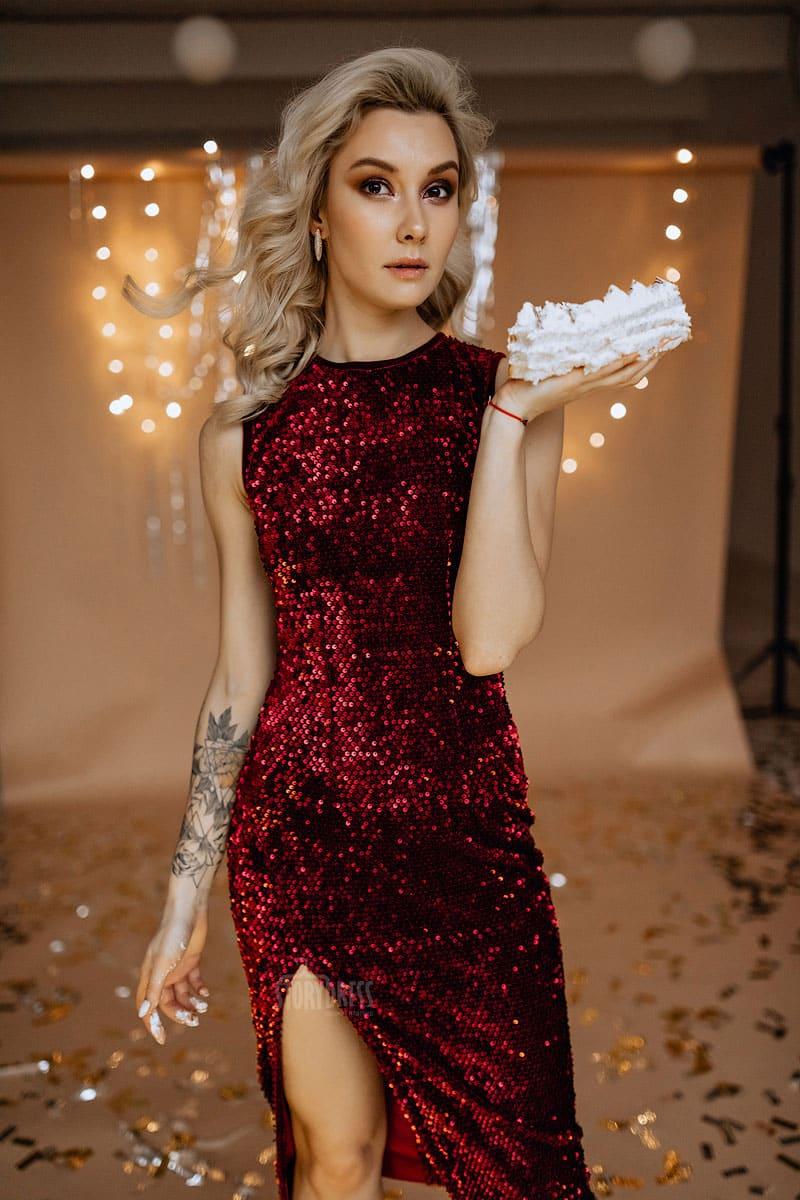 Прокат платья Red Carpet Dress