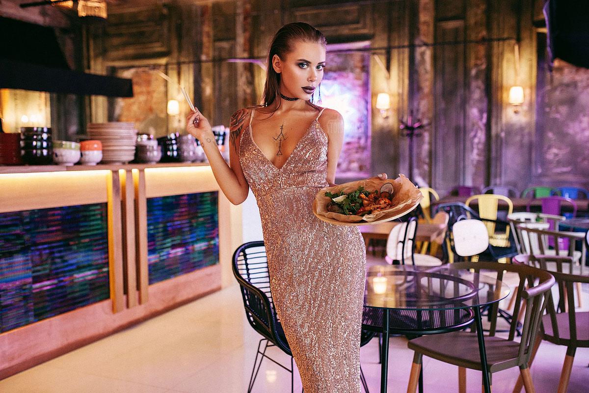 Фотосессия в ресторане