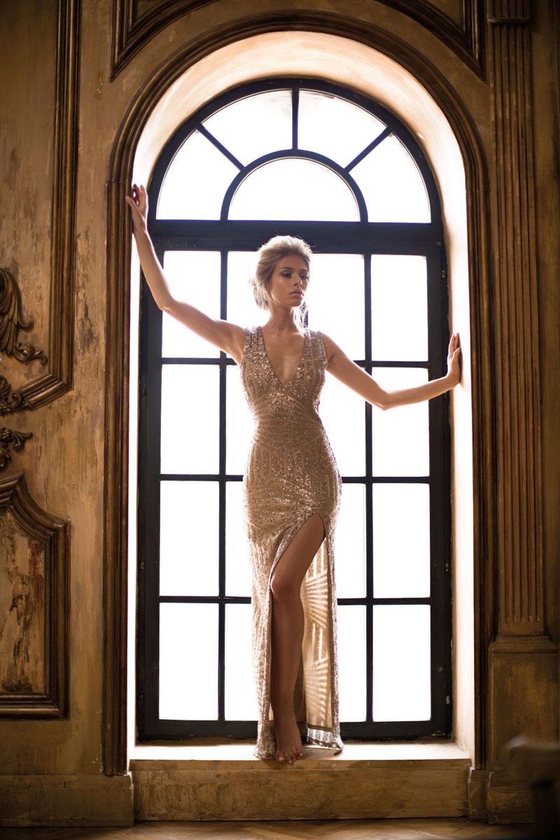Роскошное платье напрокат