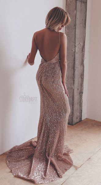 Вечернее платье Golden Passion