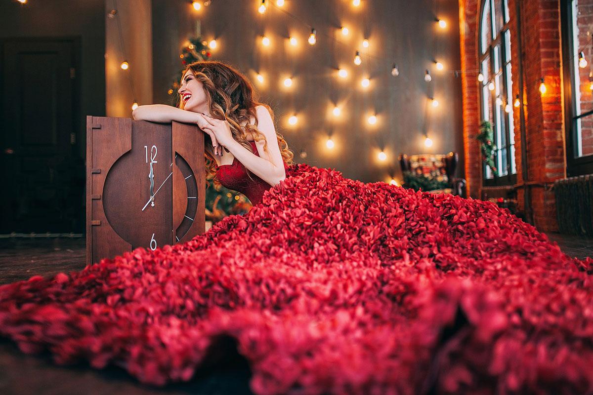 Платье Гортензия Бордо от Story Dress
