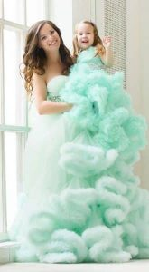 Детское платье Aquastone Mini Cloud для фотосессии с мамой