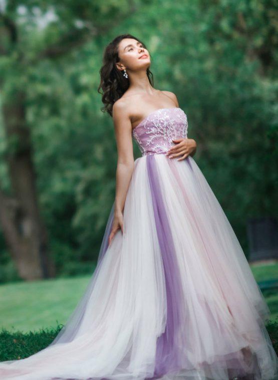 Пышное платье Lilac Falls