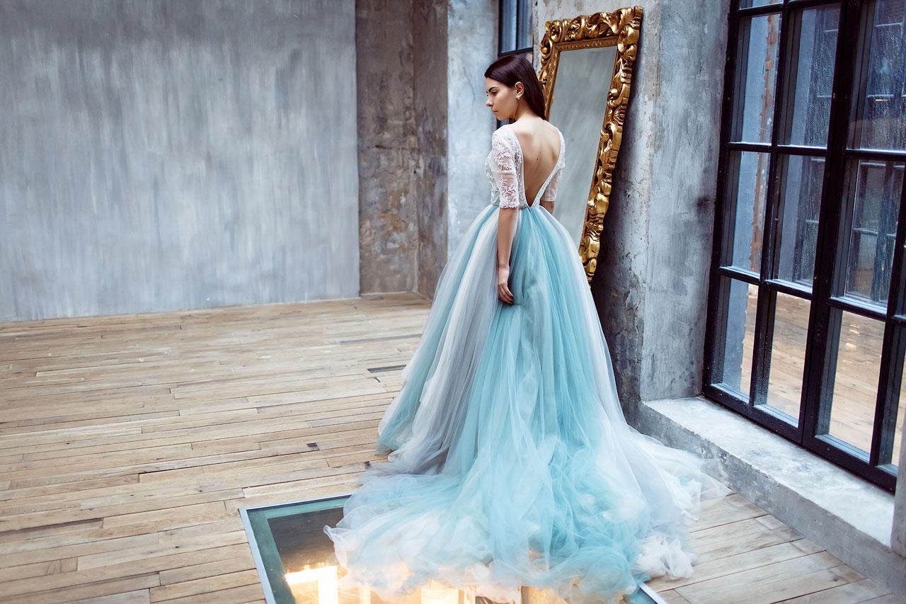 Платье для фотосессии в студии