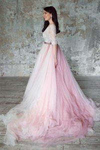 Пышное платье Nude Falls