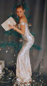 Вечернее платье Sunshine Silver