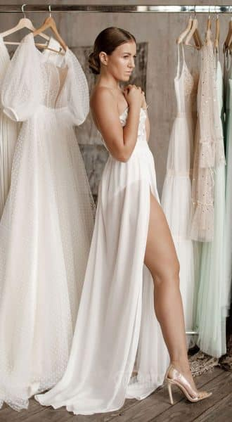 Вечернее платье-боди Victoria White