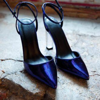 Фиолетовые туфли F-05