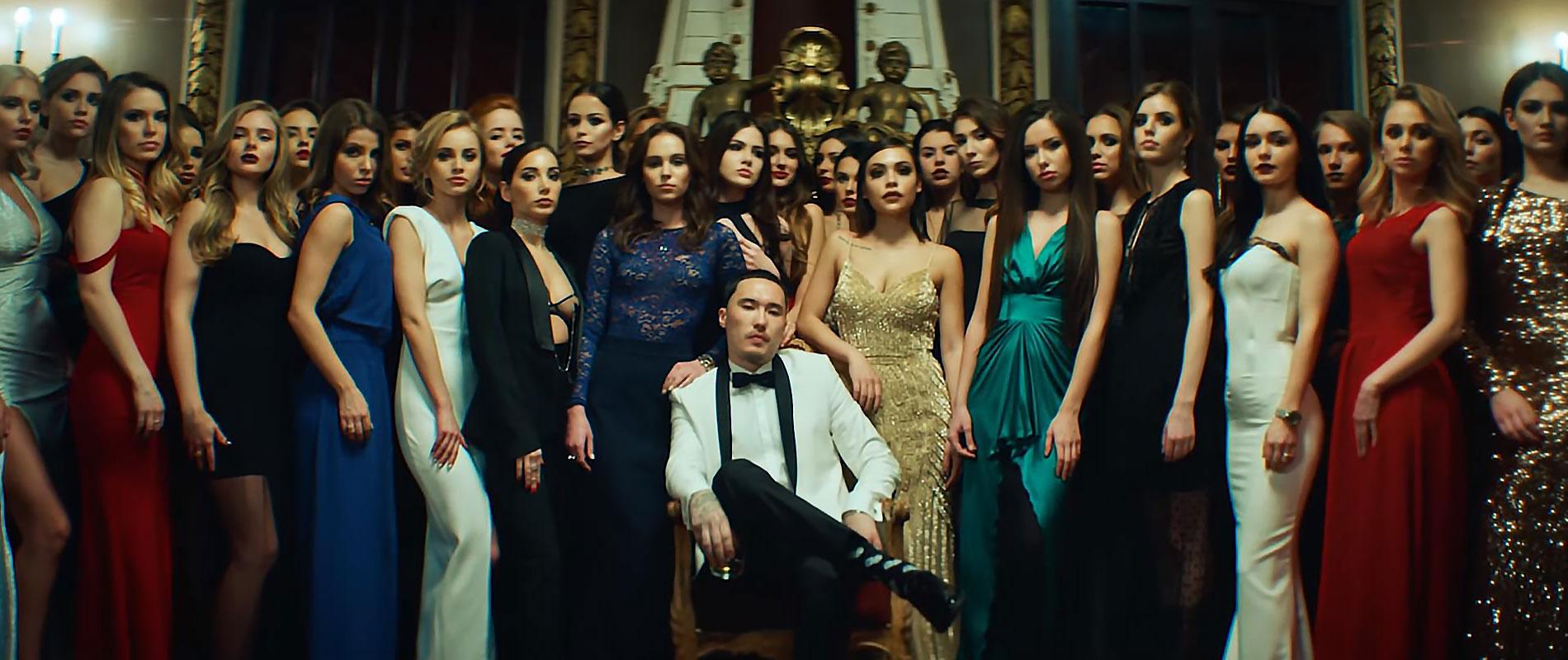 Красавицы из клипа Скриптонита «Вечеринка»