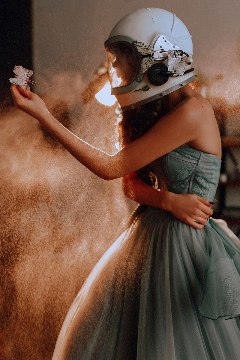 Фотосессия по фильму «Скафандр и бабочка»