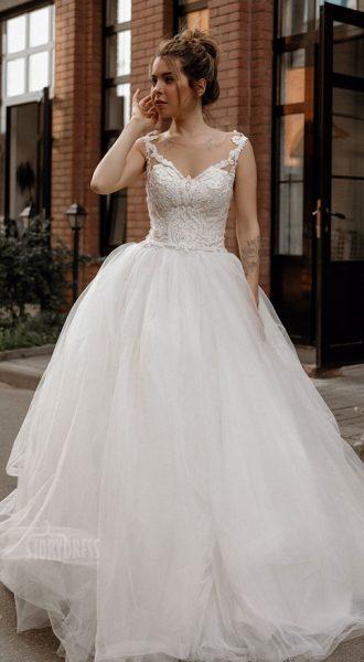 Пышное свадебное платье Melanie