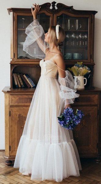 Свадебное платье Creme De Nude