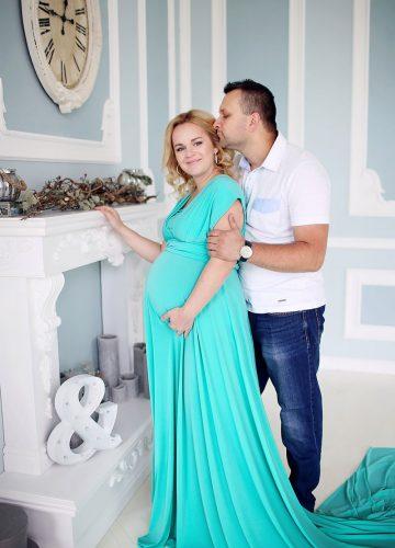 Фотосъемки беременной девушки и ее мужчины
