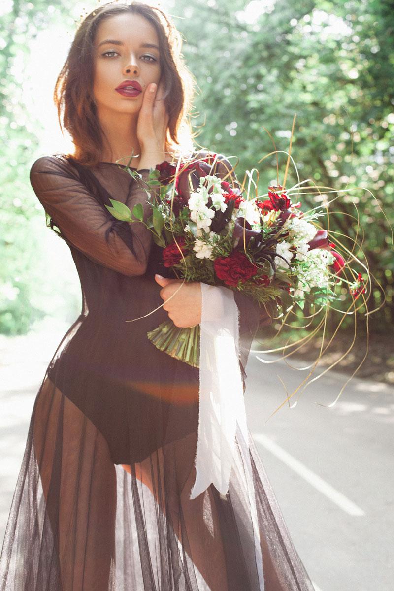 прозрачное платье облако Москва