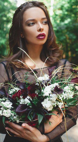 Платье-облако из прозрачной невесомой ткани