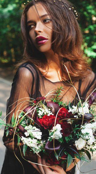 Платье для образа роковой красотки