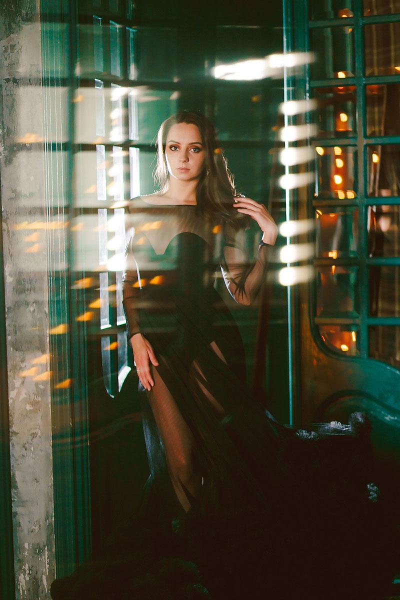 Платье StoryDress Чёрный Фантом