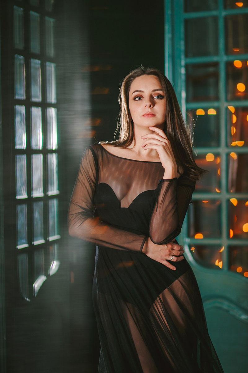 Платье-облако Story Dress Чёрный Фантом