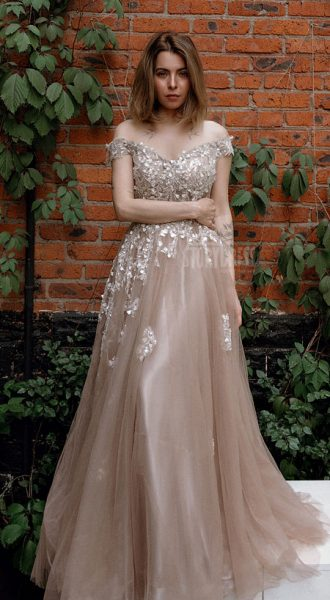 Вечернее платье Golden Sand