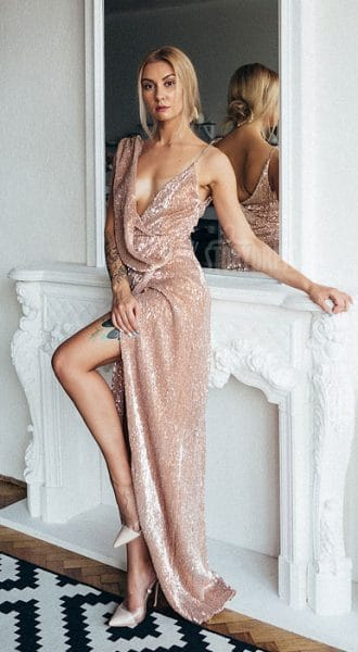 Аренда платья Lux Dress Bronze
