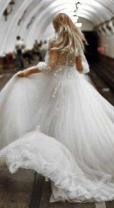 Свадебное платье Creme Sheen