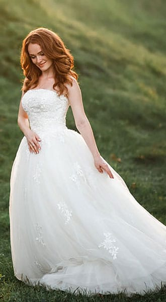 Пышное свадебное платье Ellada Dreams