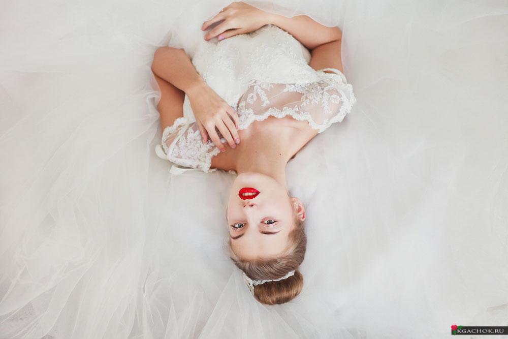 Свадебное платье для фотосессии