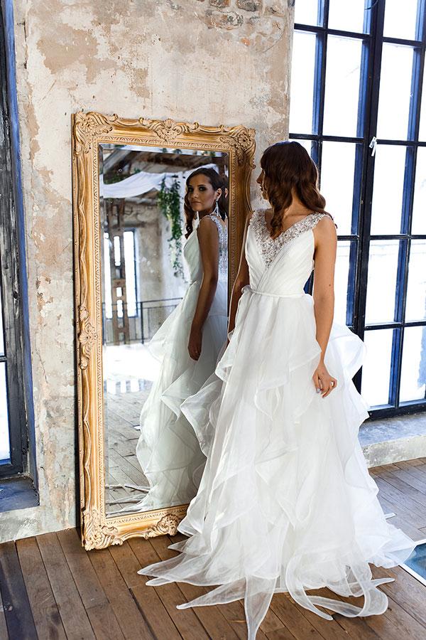 Белое платье напрокат для свадьбы
