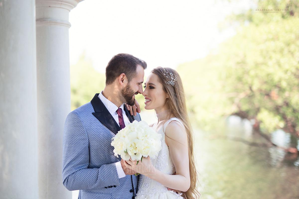 Свадебная фотосессия на свежем воздухе