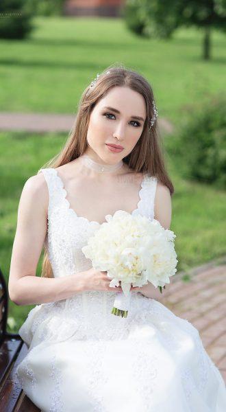 Свадебная съемка на лоне природы