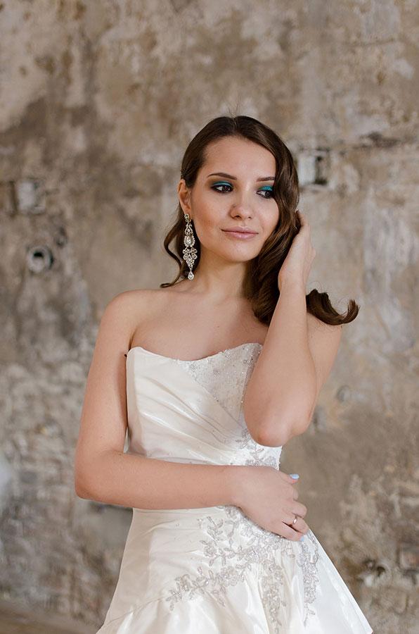 Милое свадебное платье для счастливой невесты