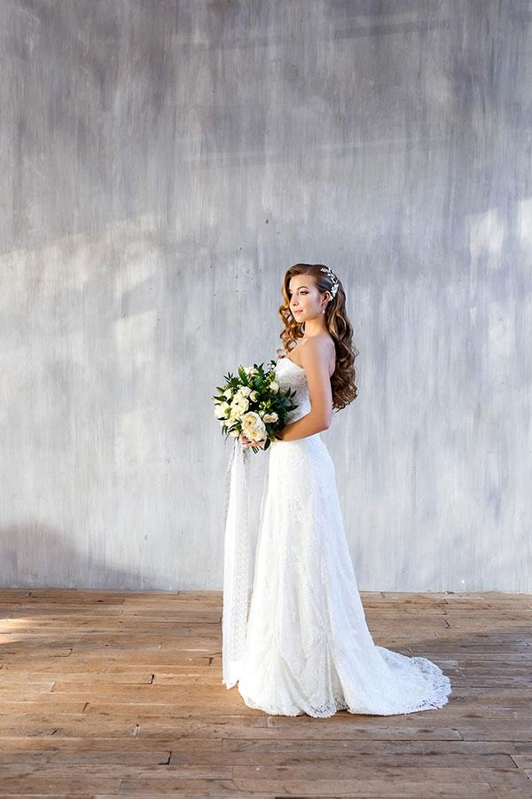 Свадебное платье невесты для фотосессии