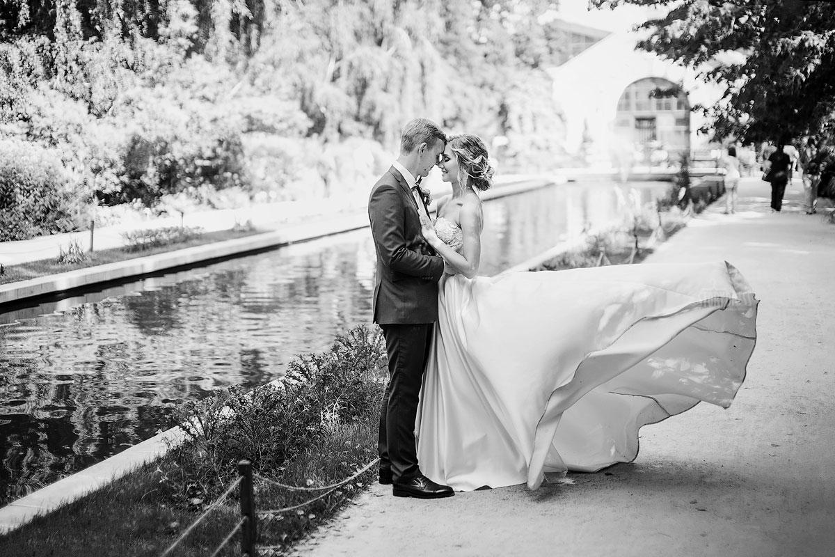 Корсетное свадебное платье