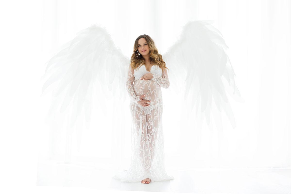 Крылья ангела для фотосессии